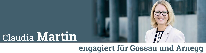 Bild: Claudia Martin | engagiert für Gossau und Arnegg | Kantonsrätin SVP | engagiert für Gossau und Arnegg